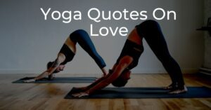 Read more about the article Top 15 Yoga Quotes On Love | Self-Love Quotes