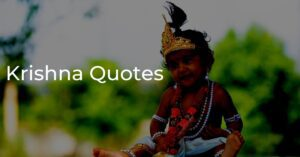 Read more about the article 30+ Best Krishna Quotes From Bhagavad Gita