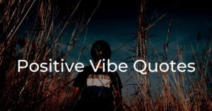 Read more about the article Best 30+ Positive Vibe Quotes | Positivity Quotes
