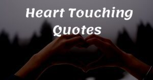 Read more about the article Top 20+ Heart Touching Quotes   RepublicQuote