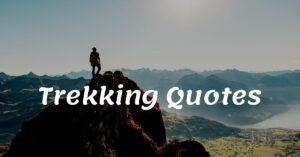 Read more about the article Top 20 Trekking Quotes with Images | Hiking Quotes