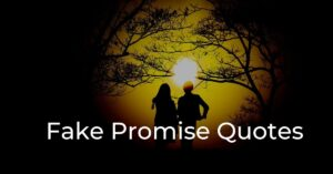 Read more about the article Top 10 Fake Promise Quotes | Broken Promises Quotes
