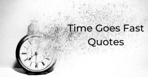 Read more about the article Time Goes Fast Quotes | How Time Flies with Images